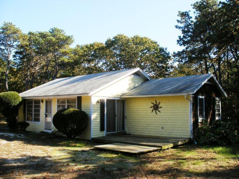 House sits on a private flat yard with a short walk to the beach. - GRIEAS2 78676 - Eastham - rentals