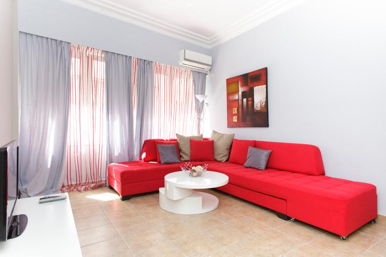 Living room - Historical Center Artemis 1 bedroom renovated apt. - Athens - rentals
