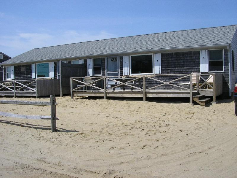 Front of Cottages - 50 Yards to PRIVATE BEACH-Updated 3 Bdrm Cottages - West Dennis - rentals