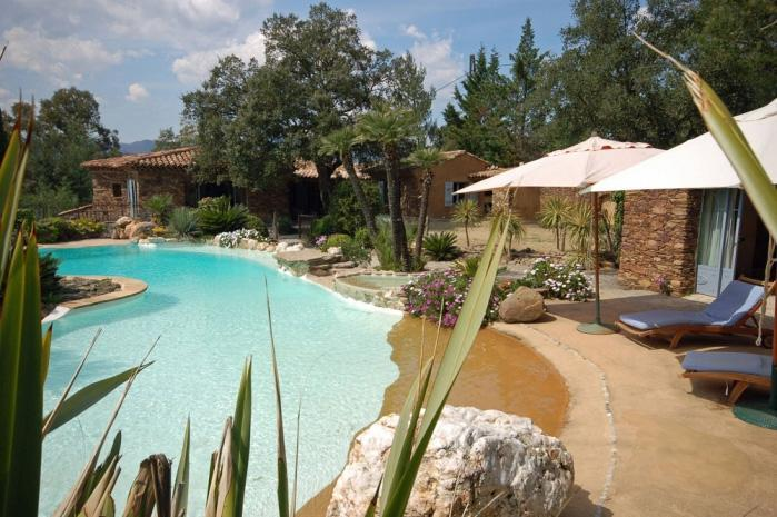 Beautiful stone-built villa, golf of Saint-tropez - Image 1 - Cogolin - rentals
