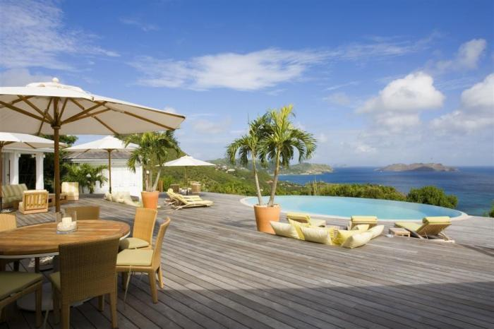 Luxury 4 bedroom Petite Saline villa. Great views of Lorient Bay and the surrounding islands! - Image 1 - Saint Barthelemy - rentals