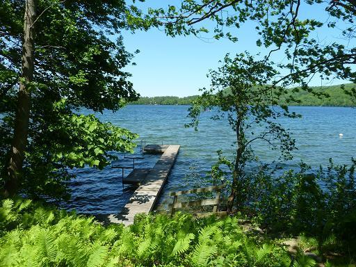 Why come here?  To enjoy the lake. - Charming 2+2 Lakeside Cottage on Best Lake in CT - Salisbury - rentals