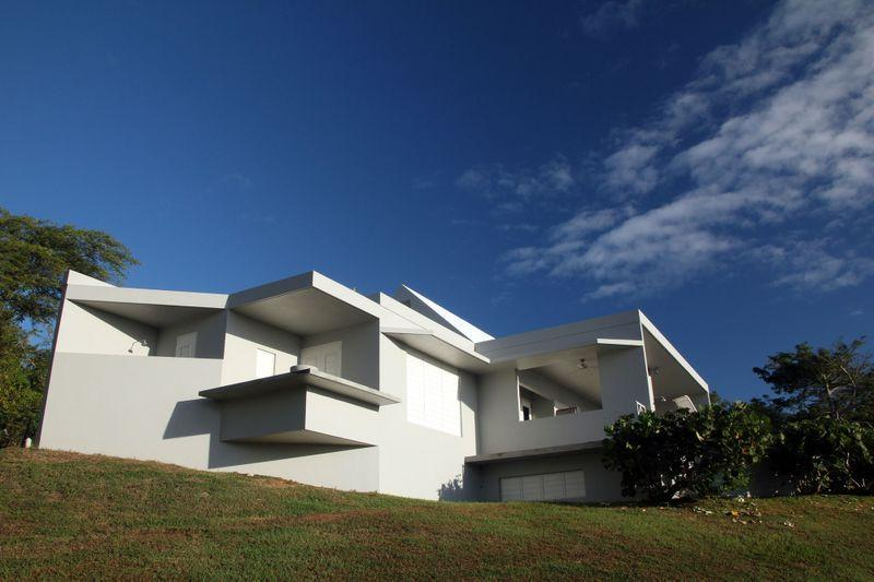 from yard - Spectacular 2 BR villa with ocean view on Vieques - Isla de Vieques - rentals