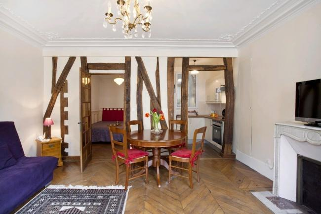 A charming apartment for 4 just a stone's throw from the Jardin des Plantes. - Image 1 - Paris - rentals