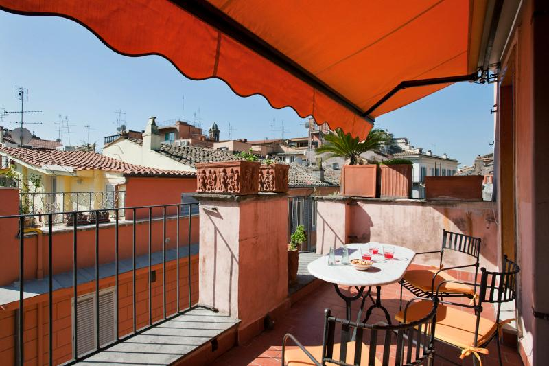 Terrasse with an amazing view on Rome's roofs - 23483 - Rome - rentals