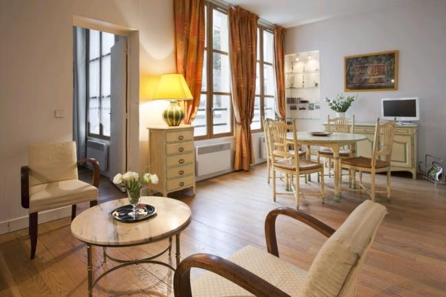 Very Bright and Quiet Apartment in le Marais - Image 1 - Paris - rentals
