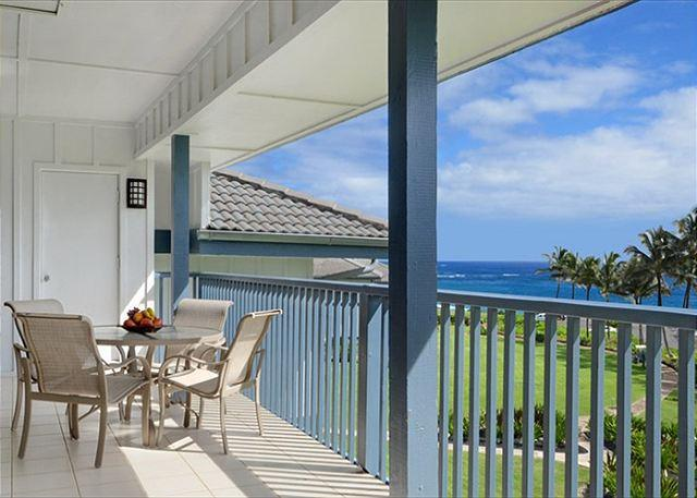 Enjoy the views of the ocean, swaying palms & pool from Poipu Sa - Poipu Sands 333 - Poipu - rentals