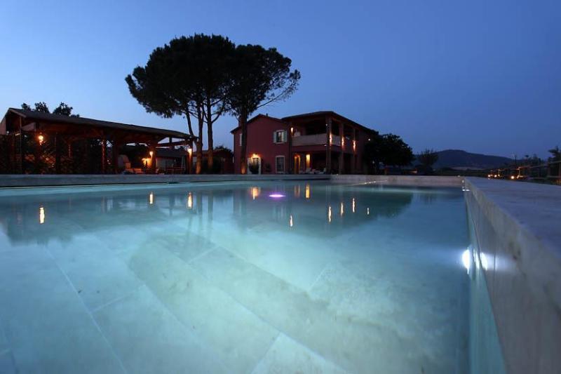 villa with the pool - Vacation Rentals at Borgo San Giuliano in Tuscany - Grosseto - rentals