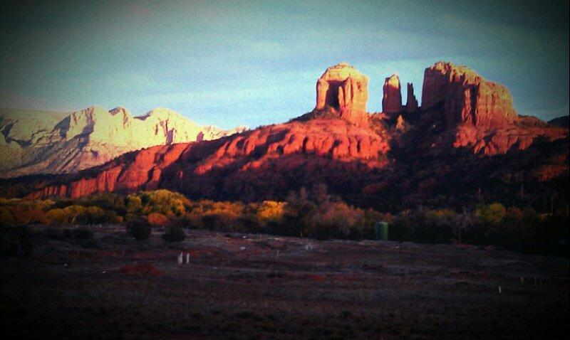 off our upstairs deck - Hot Spot in the Red Rocks - Sedona - rentals