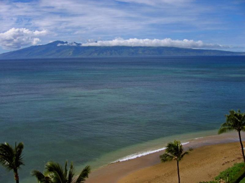 View from Lanai - Beach Front Studio Condo with Awesome View! - Lahaina - rentals