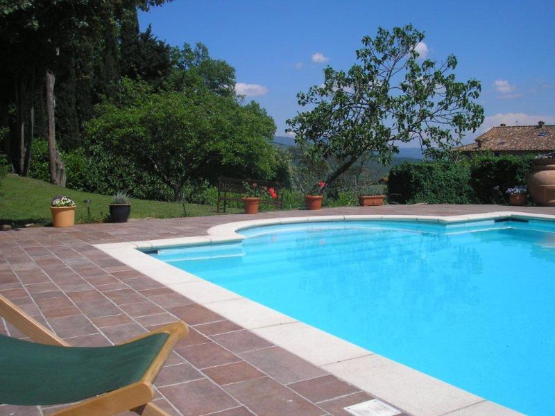 Pool - Casa Rosa - charming house with pool - Caprese Michelangelo - rentals