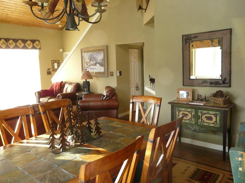 Dinning Area - Big Sky Affordable Luxury Town Home Ski Big Sky - Big Sky - rentals
