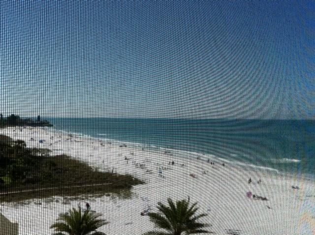 Your view - Crescent Arms 703S,Beachfront PH,Gulf View! 2BR/BA - Siesta Key - rentals