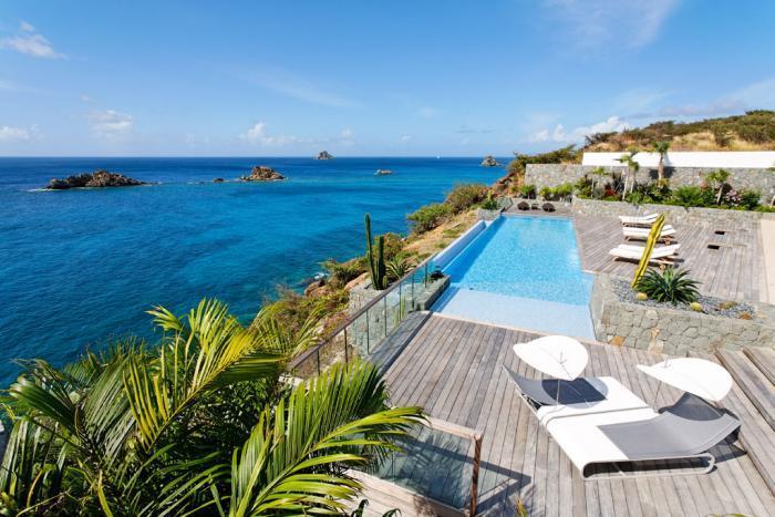 Luxury 6 bedroom Gustavia villa. Full ocean view! - Image 1 - Gustavia - rentals