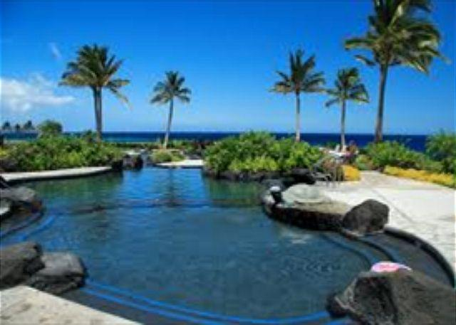 Hal'i Kai pool - FALL SPECIAL 5TH NIGHT FREE-Stunning 3BR Townhome! Professionally Decorated - Waikoloa - rentals