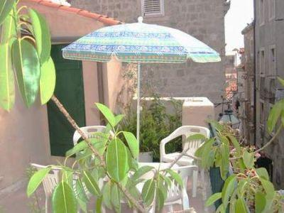 Part of terrace just outside the apartment - Best location, terrace, Your Dubrovnik Sweet Home - Dubrovnik - rentals