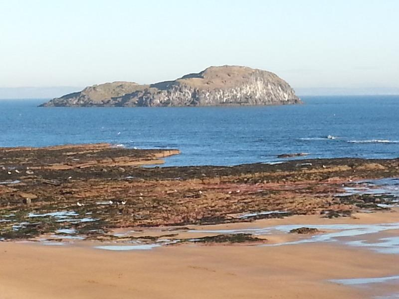 View from Lounge - Puffin's Lookout - 2014 Excellence Award  - Puffin's Lookout & Palace - North Berwick - rentals
