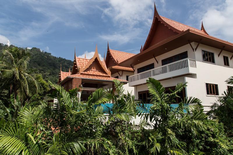 Villa from Rear aspect - Kata View Villa - Luxury 4 Bed, Private Pool Villa - Kata - rentals
