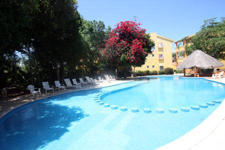 Chac Ha Common Pool with Lounge Chairs - Handicapped Access Condo 5 Min Walk to Beach-Rana - Playa del Carmen - rentals