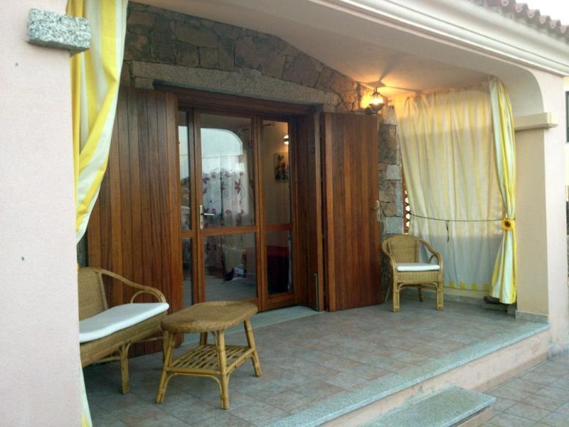 Veranda - Holiday house for rent in Sardinia. San Teodoro. - San Teodoro - rentals