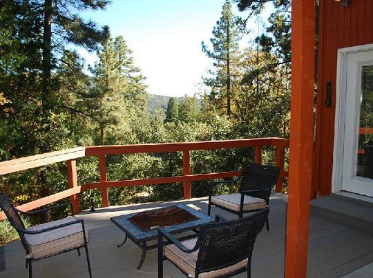 "Deck with View - ""Eagles Rest"" An ML Collection Designer Home - Idyllwild - rentals"