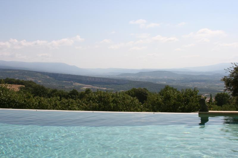 pool views - 5 BR villa in heart of Provence with Pool & Tennis - Gordes - rentals