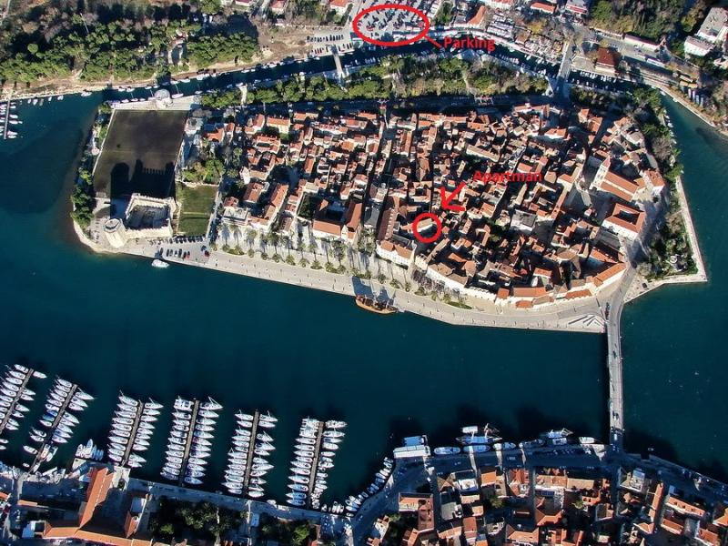 Center of the old town ( green apartment ) - Image 1 - Trogir - rentals