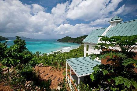 Refuge - Private beachfront villa features sea views, pool & tropical landscape - Image 1 - Tortola - rentals