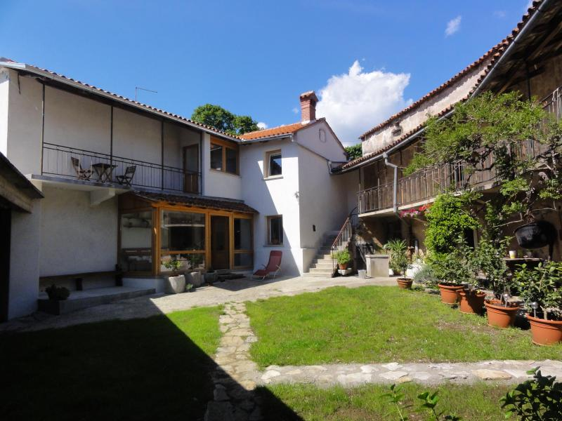 Closed yard in front of the house - Vila Dane - Sezana - rentals