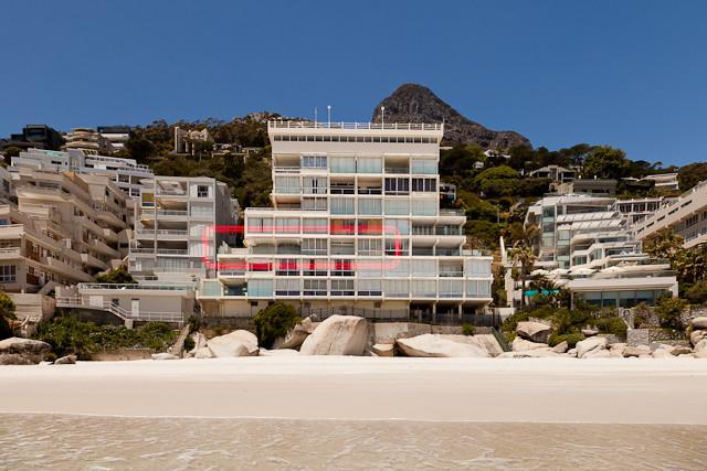 Exterior of building - Clifton 5 Star Apartment on the Beach - Camps Bay - rentals