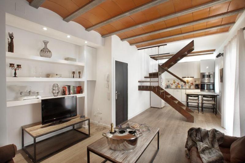 BCN Barceloneta Beach Duplex - per month - Image 1 - Barcelona - rentals