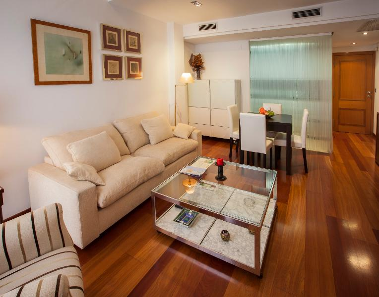 from the balcony to the apartment door. - Duplex with private roof terrace - Valencia - rentals