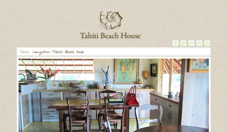 Tahiti beach house - Image 1 - Moorea - rentals