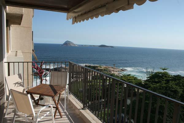 (#180) 2 bedroom in Arpoador w/ amazing ocean view - Image 1 - State of Rio de Janeiro - rentals