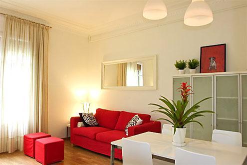 Gran Via A Apartment - Image 1 - Barcelona - rentals
