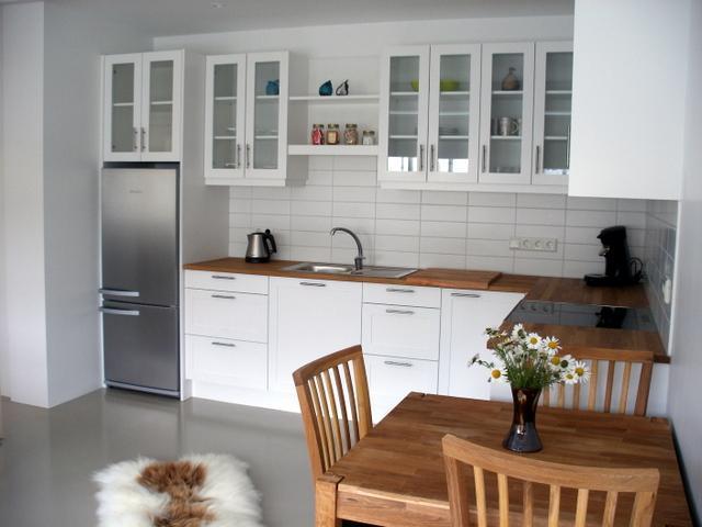 Apartment 1 - Kitchen/Dining - Gamla Posthusid - Holiday Apartment 1 - Saudarkrokur - rentals