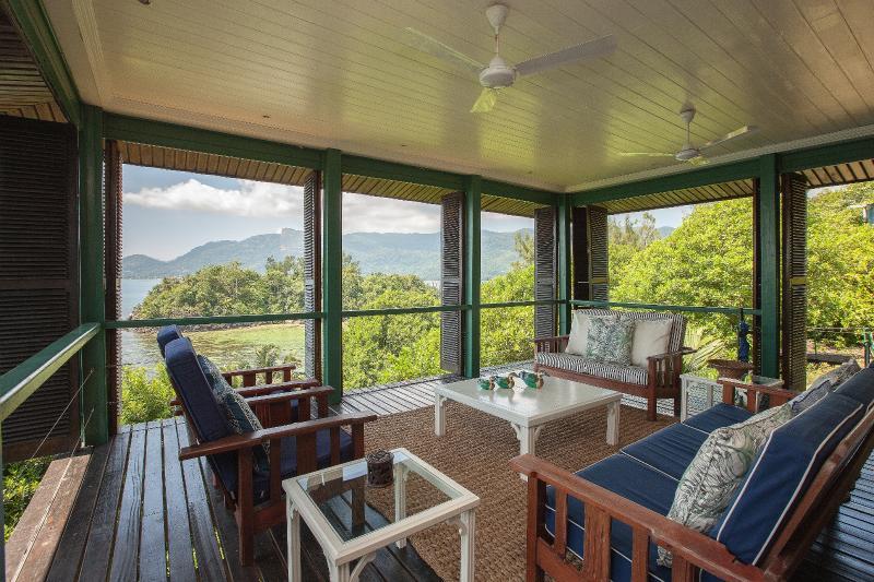 Ocean View from Sunrise & Veranda - South Point Villas - Sunrise Villa, Seychelles - Cerf Island - rentals