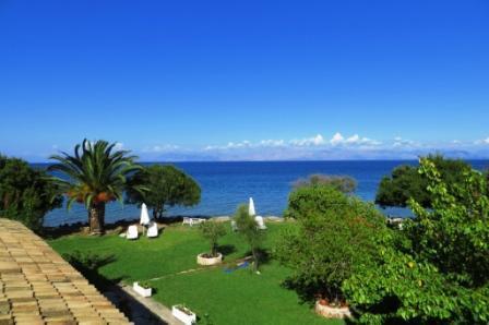 Thalassa Garden Corfu Seafront Apartments - Image 1 - Chlomos - rentals