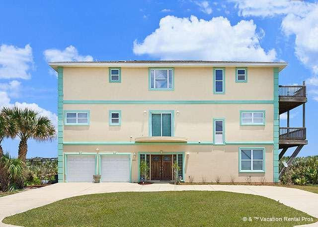 Bring the family and make it a reunion - Miracle Eight - 8 Bedrooms, sleeps 14, Beach Front - Flagler Beach - rentals