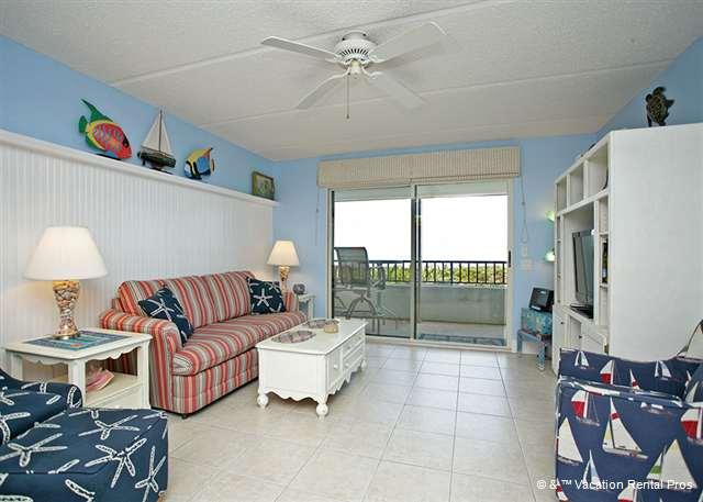 Bright, Beachy and Beautiful - Windjammer 104 Luxury Beach Front, Newly Updated, Elevator, Pool - Saint Augustine - rentals