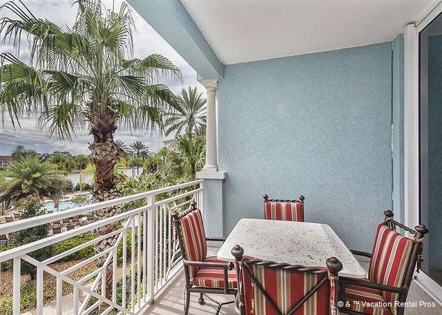 Dine overlooking a stunning landscape - Yacht Harbor 266, 2 bedrooms, beautifully furnished - Palm Coast - rentals