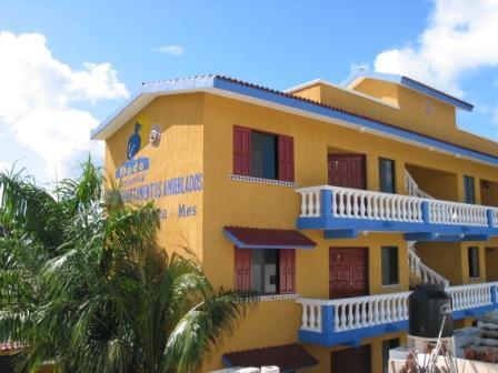 General view-Dodo Residential,Cozumel,Mexico - Furnished Affordable Apartment  In Cozumel Mexico. - Cozumel - rentals