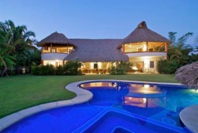 Punta Mita Luxury villa 4 suites surf beach front - Image 1 - Punta del Burro - rentals
