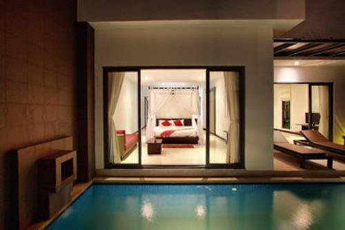Romantic, jump from the bedroom into the pool! - ROMANTIC Luxurious Villa Candareen - Bang Tao - Phuket - rentals