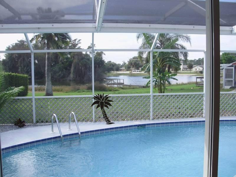 Villa Aurora 3/2 lake view, quiet Ft Myers area - Image 1 - Lehigh Acres - rentals