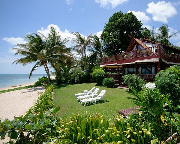 View from Beach - Luxurious Beachfront Villa with private pool - Koh Samui - rentals