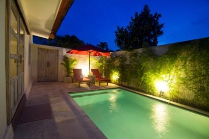 Pool Area. - Villa Mojo, Potato Head, Beach, Pool Fence* - Seminyak - rentals