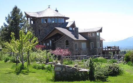 Home View from the orchard - STONE TOWER VACATION RENTAL & WEDDING VENUE - Stevensville - rentals