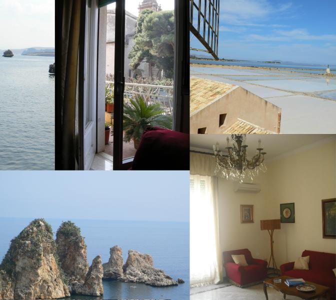 Your Vacation in Trapani - Beautiful Apartment in Historic Trapani - Trapani - rentals