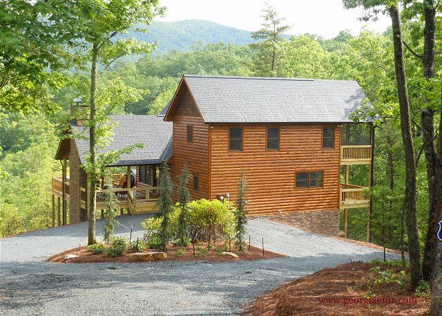 Livintha Dream - Livintha Dream Lodge- 4 Nal Forest Mountain Views Year Round, 2 m to B R Lake - Blue Ridge - rentals